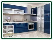 Мебель для кухни от производителя на заказ. МДФ,  массив,  пластик.