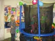 Спортивные занятия для детей. Детский фитнес,  Прыжки на батуте