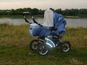 Продаётся коляска детская трансформер для мальчика